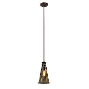 Williston Forge Shelbie 1-Light Cone Pendant