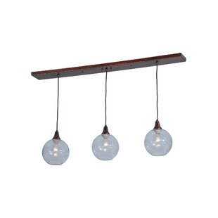 Meyda Tiffany Bolla 3-Light Kitchen Islan..