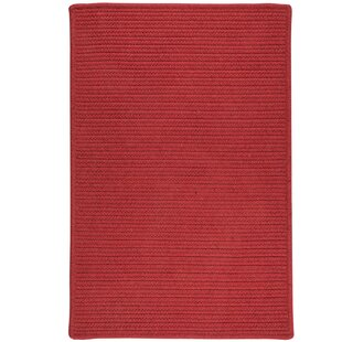 Hopseed Red Indoor/Outdoor Area Rug