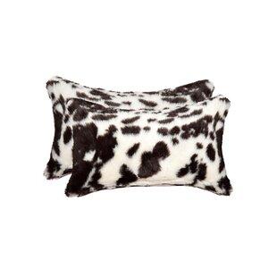 Weehawken Brownsville Faux Fur Lumar Pillow (Set of 2)