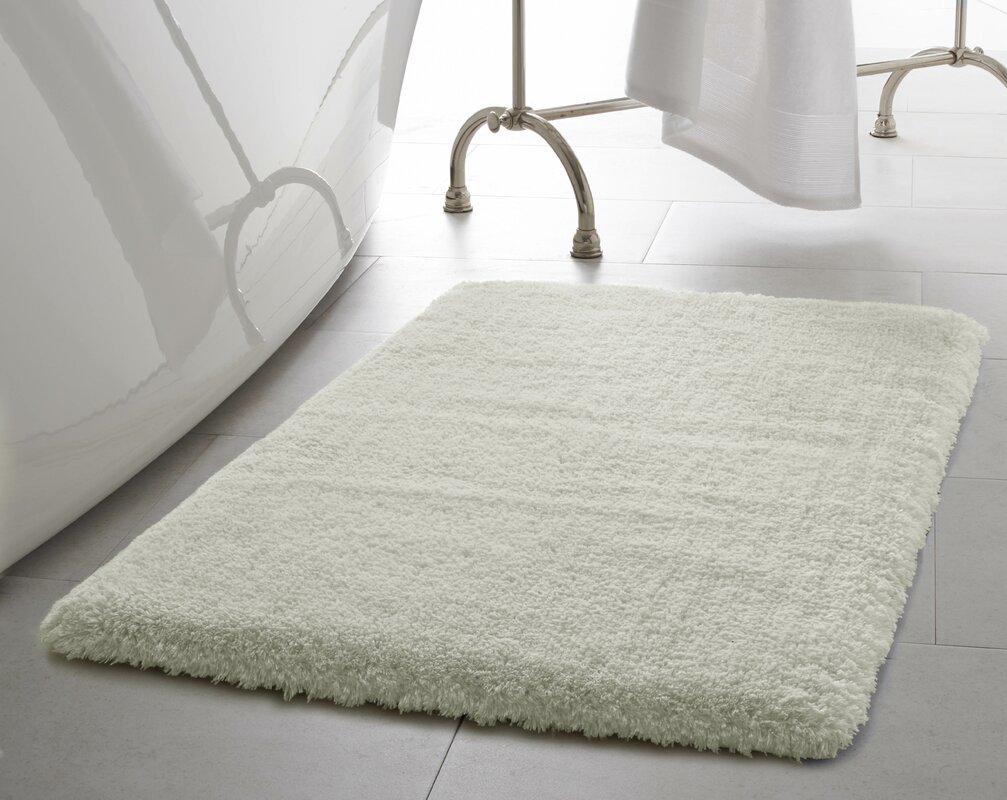 laura ashley home pearl plush bath mat & reviews | wayfair