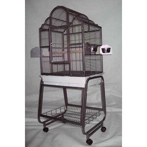 Victorian Bird Cage with Plastic Base