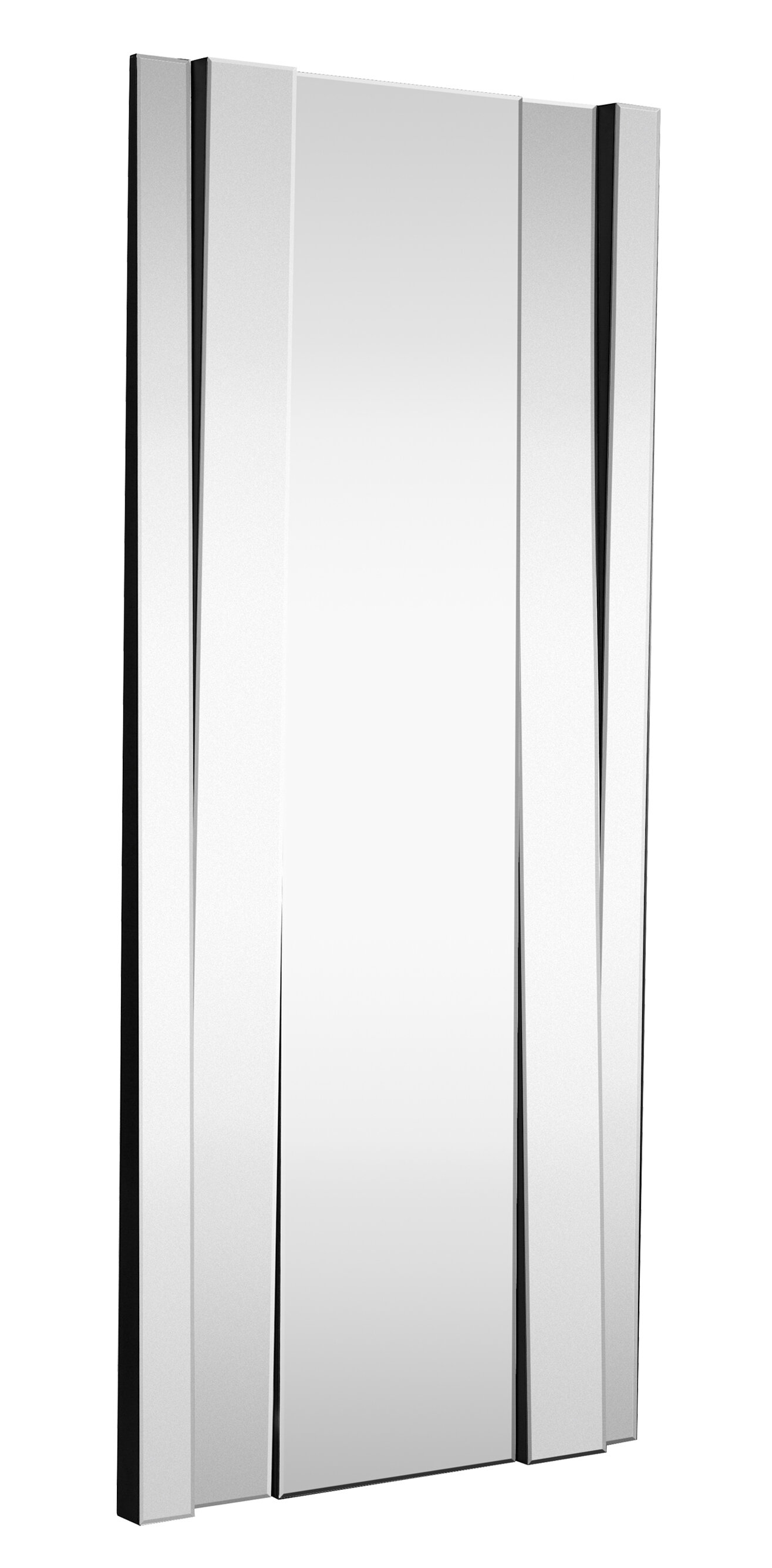 Majestic Mirror Large Modern Rectangular Full Length Angled Beveled