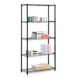 Black Metal Shelf Unit Wayfair
