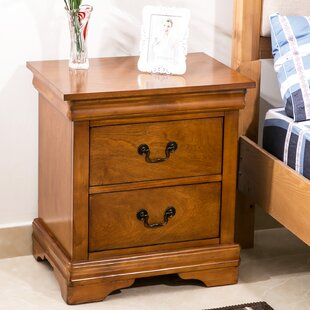 Drennen 2 Drawer Nightstand