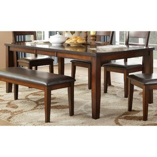 Ignatius Wooden Dining Table by DarHome Co Coupon