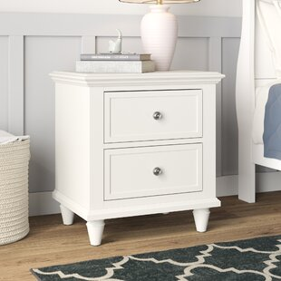 Kinslee 2 Drawer Nightstand by Grovelane Teen