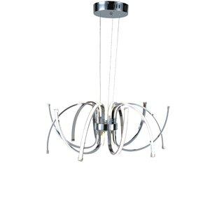 Mercer41 Kingsview 12-Light LED Novelty Chandelier