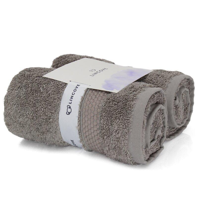 American Bedding Turkish Cotton Hand Towel  Color: Mist