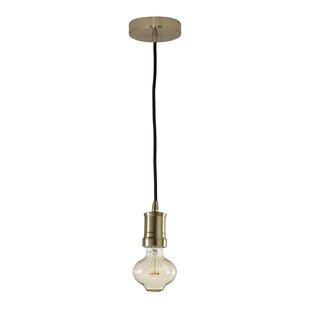Benedict 1-Light Bulb Pend..