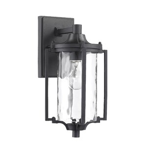 Price comparison Goodrich 1-Light Outdoor Wall Lantern By Alcott Hill
