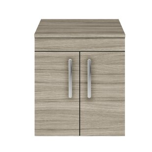 Stollings 50cm Wall Mounted Vanity Unit Base By Brayden Studio