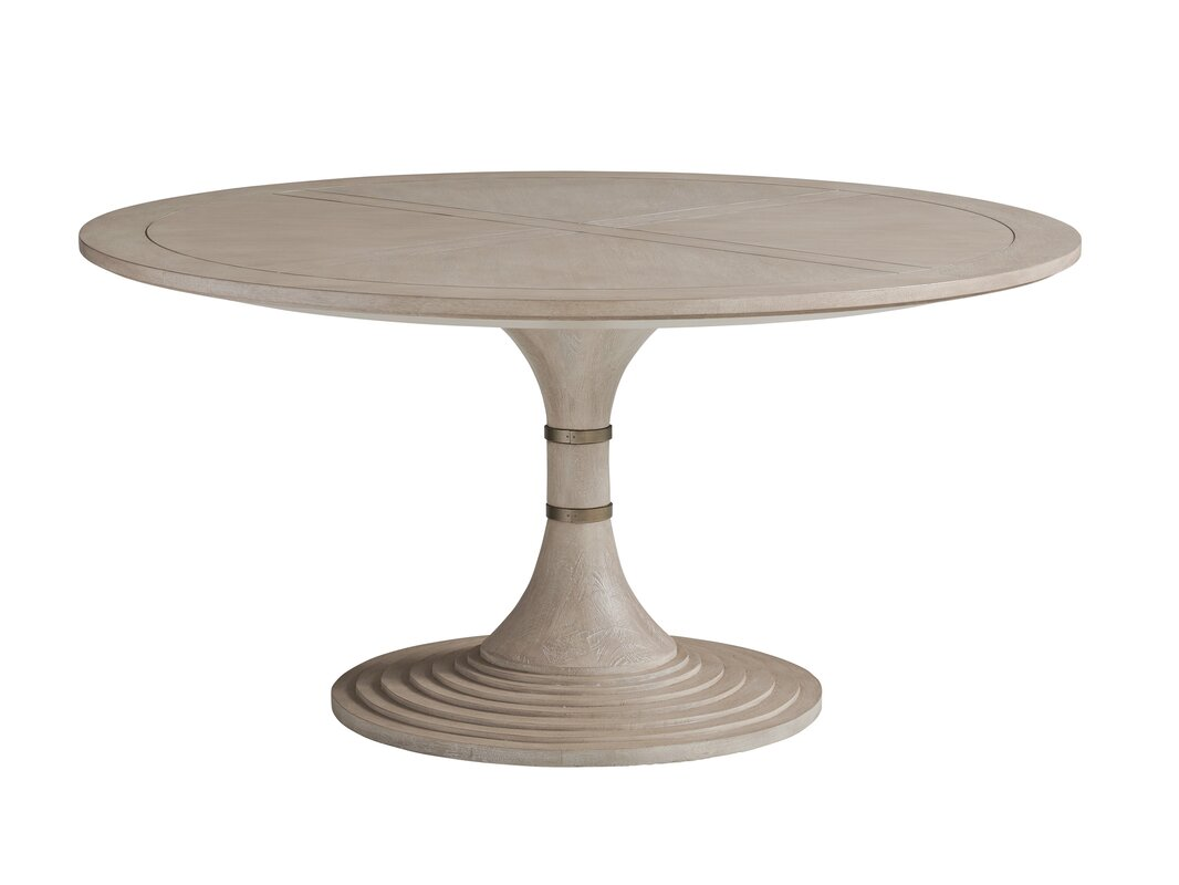 Barclay Butera Malibu Hickory Solid Wood Dining Table
