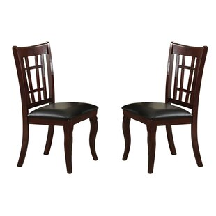 Soraya Solid Wood Dining Chair (Set of 2) Winston Porter