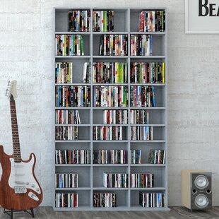 Mercury Row Multimedia Open DVD/CD Shelf By Mercury Row