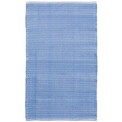 Dash and Albert Rugs C3 Herringbone Blue Indoor/Outdoor Area Rug ...