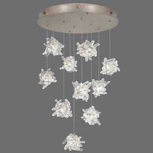 Fine Art Lamps Natural Inspirations 10-Light Cluster Pendant