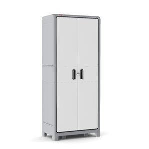 Optima Wonder Plastic 72 H X 31 W 18 D Storage Cabinet