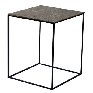 Flory Iron Frame End Table