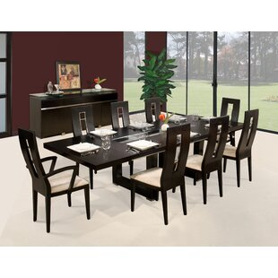 Novo 9 Piece Dining Set by Sharelle Furnishings 2019 Coupon