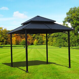 Sumac 10 Ft. W x 10 Ft. D Steel Patio Gazebo by Sunjoy