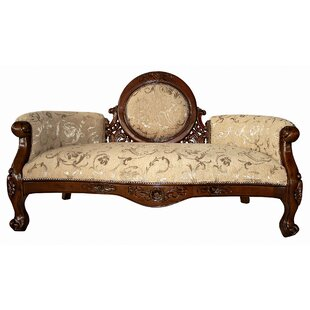 Victorian Cameo-Backed Loveseat by Design Toscano Modern