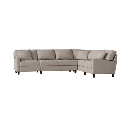 4 Recliner Sectional Wayfair