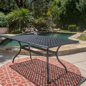 Burrowes Aluminum Rectangle Table