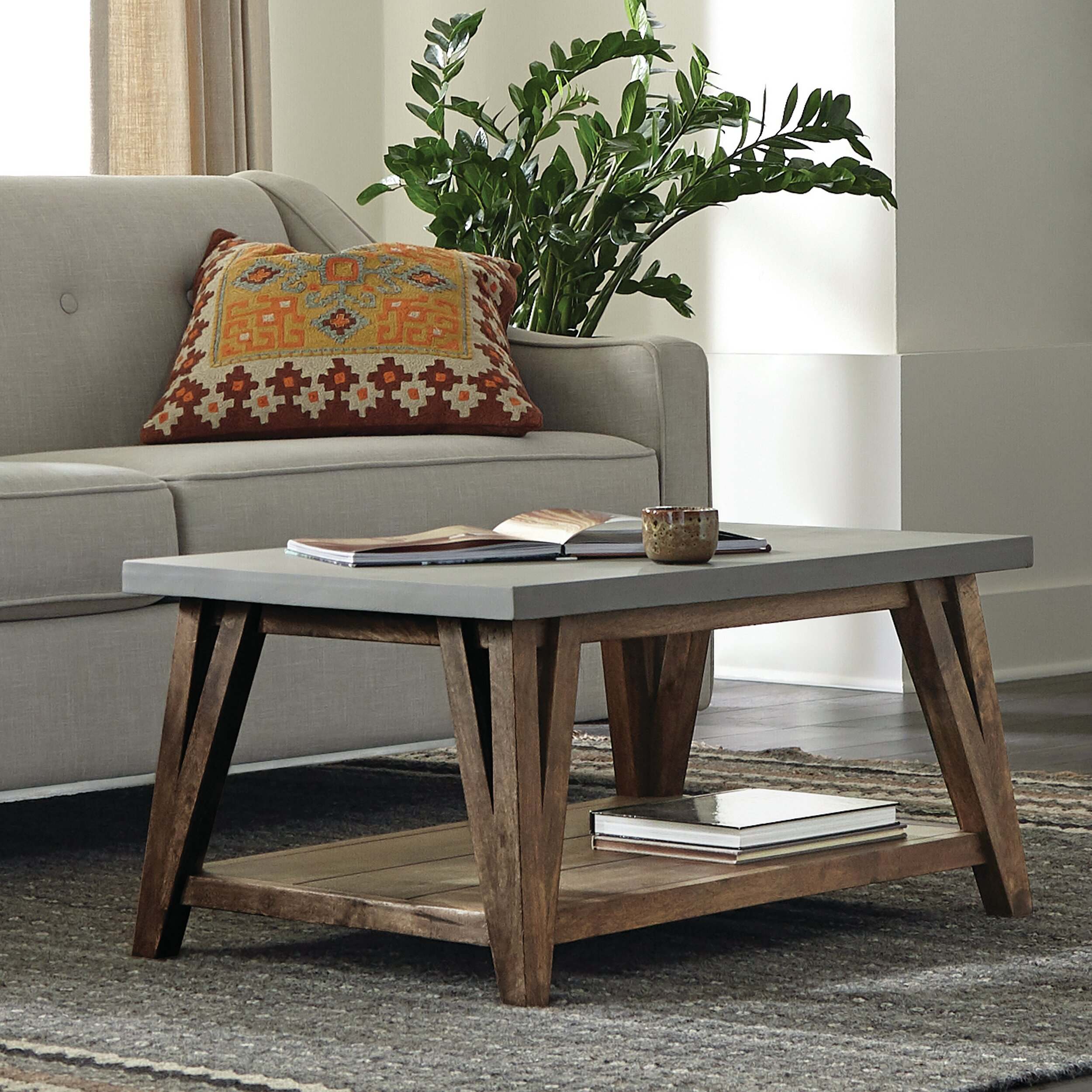 Modern Farmhouse Small Coffee Tables You Ll Love In 2021 Wayfair