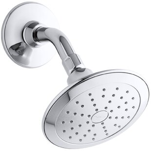 Kohler Alteo 2.0 GPM Single-Function Showerhead with Katalyst Air-Induction Spray and Katalyst Air Induction Spray