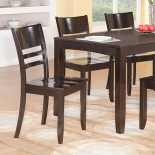 Affordable Price Lockmoor Side Chair with Wood Seat (Set of 2) by Red Barrel Studio Reviews (2019) & Buyer's Guide