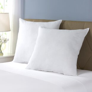 Wayfair Basics Polyester Euro Pillow (Set of 2)