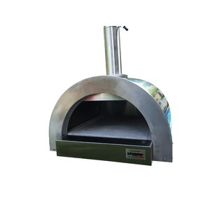 F- Series Mini Professional Stainless Steel Wood Fired Pizza Oven