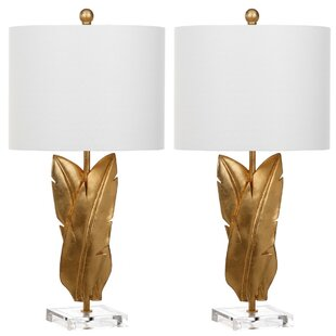 Palmgrass Wings 25.5 Table Lamp (Set of 2)