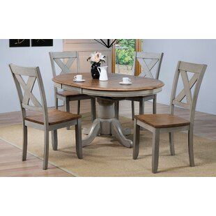 Wonderly 5 Piece Extendable Dining Set