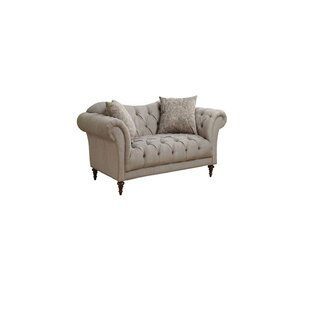 Best Reviews Haygood Chesterfield Loveseat by Alcott Hill Reviews (2019) & Buyer's Guide
