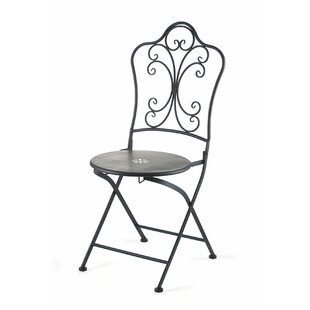 Iron Flower In The Middle Garden Chair By Galileo