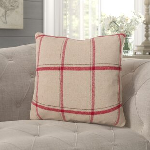 Kavia Flannel Design Throw Pillow