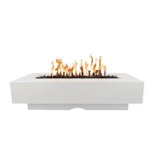 Del Mar Concrete Fire Pit Table