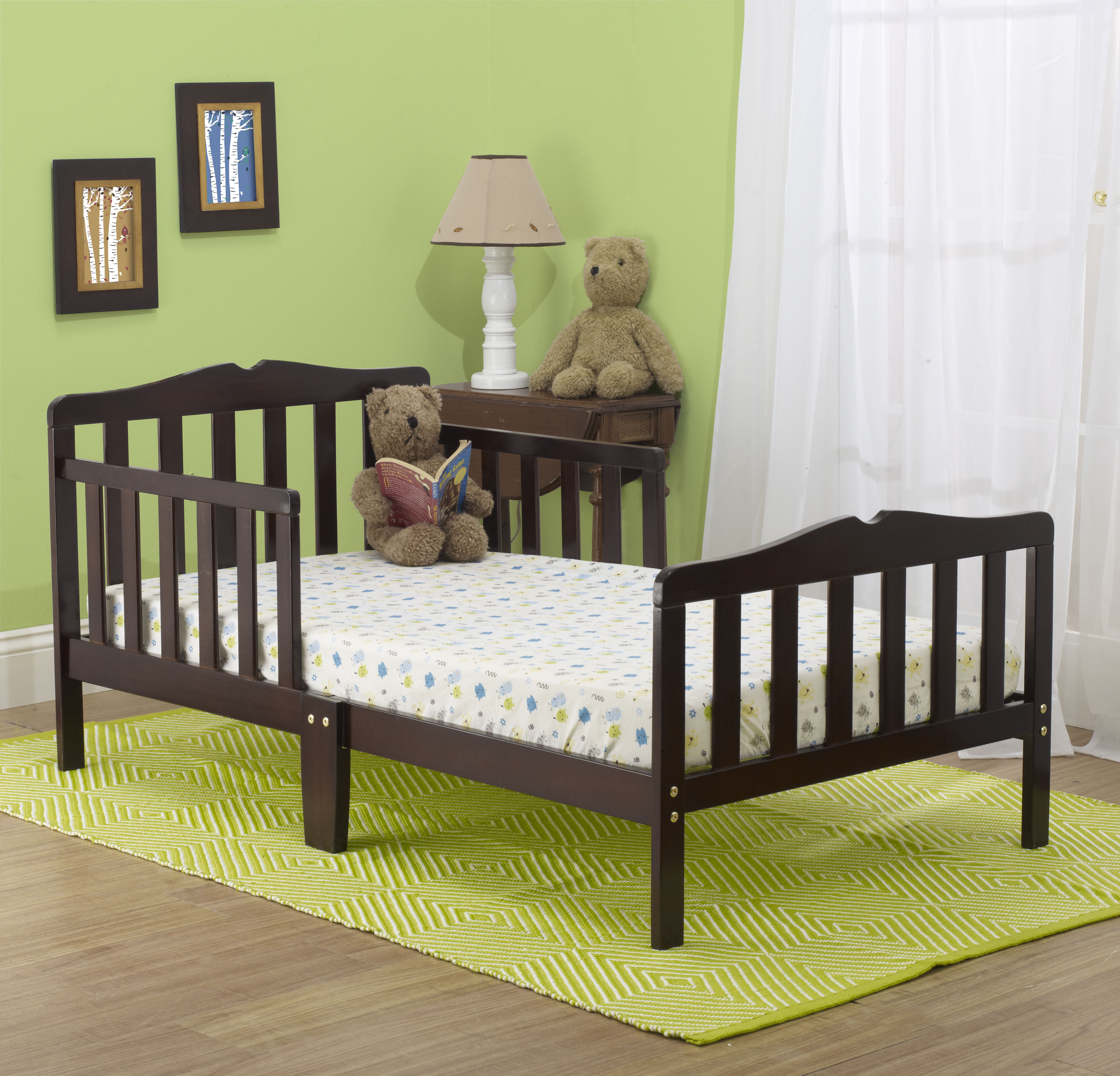 Orbelle Contemporary Toddler Bed Wayfair