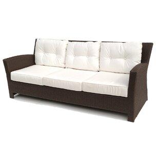 Sonoma Patio Sofa with Sunbrella Cushions by ElanaMar Designs