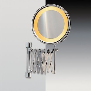 Windisch by Nameeks Wall Mounted Extendable Magnifying Mirror