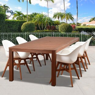 Mercury Row Alshain Contemporary 7 Piece Dining Set