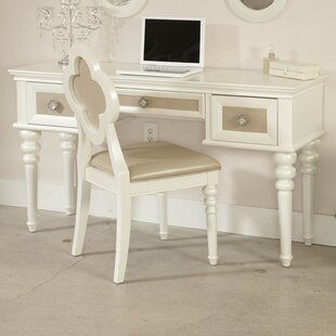 Najarian Furniture Paris Writing Desk with 3 Drawers