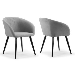 Fernada Upholstered Dining Chair (Set of 2) Wrought Studio