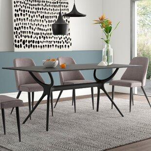 Curnutt Plastic/Resin Dining Table by Mer..