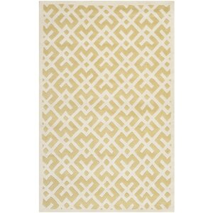 Wilkin Yellow/Ivory Area Rug