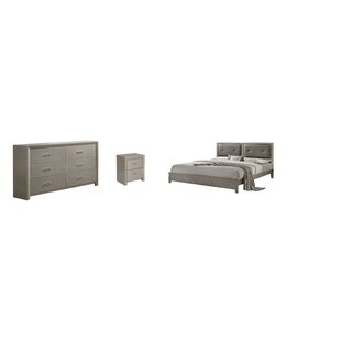 Whitehead Panel 3 Piece Bedroom Set