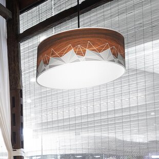 Jef Designs Organic Modern Facet Pendant