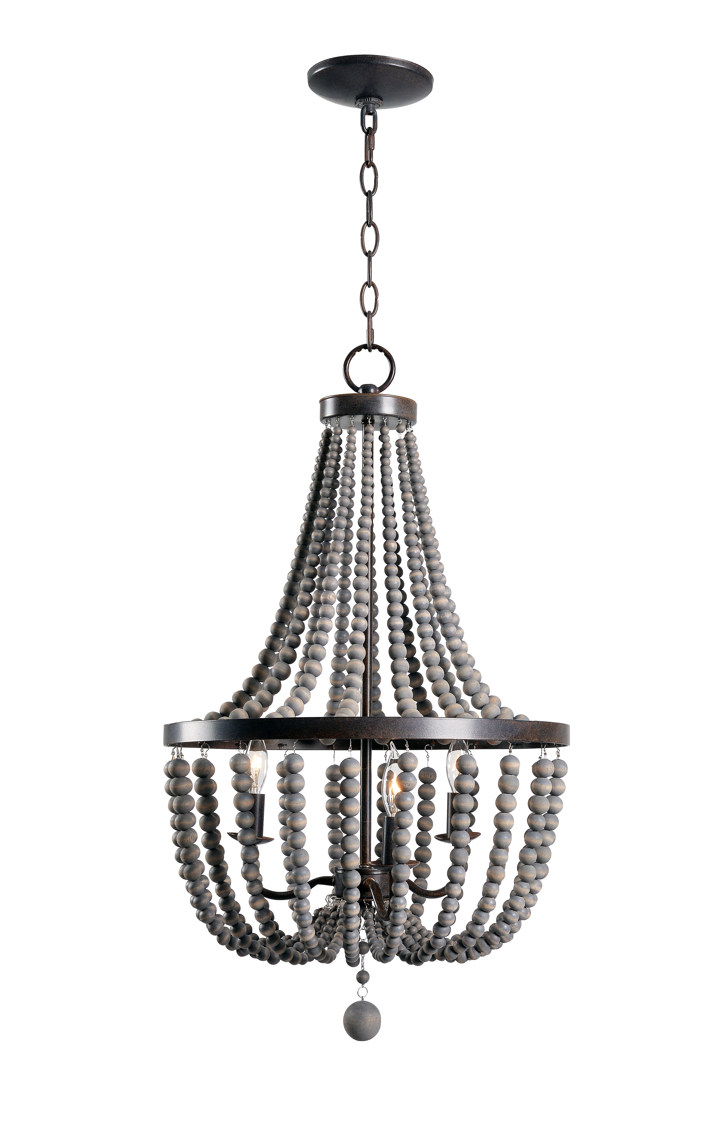 beaded world do wood product xxx bead clear market chandelier